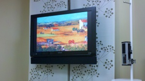 Flat Panel Display In Patient Room