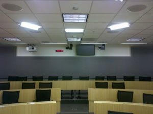 Distance Learning Classroom with PTZ cameras