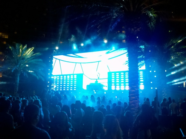 Feed Me performs at the Mau5trap Fountainbleau Pool Party in Miami Beach