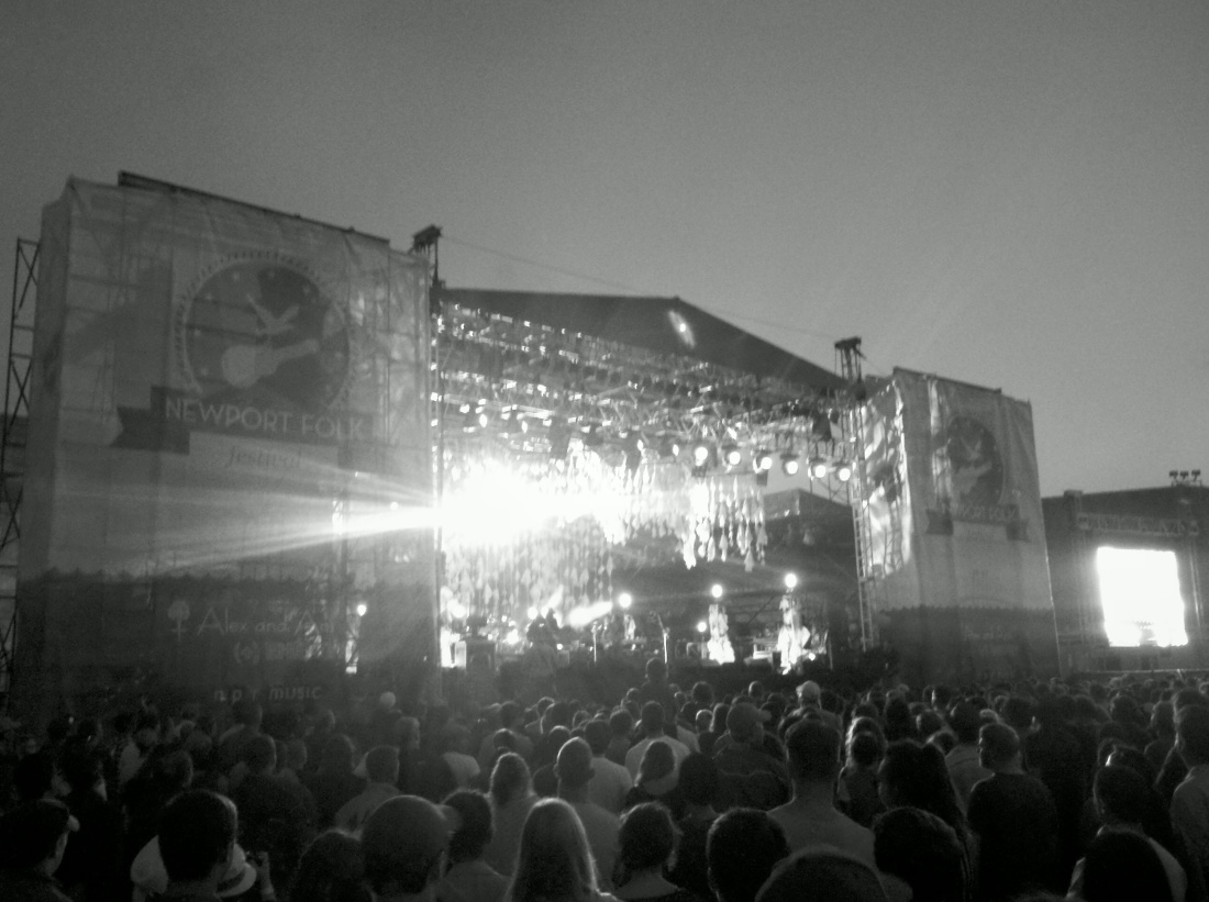 Wilco at the Newport Folk Festival, July 2012