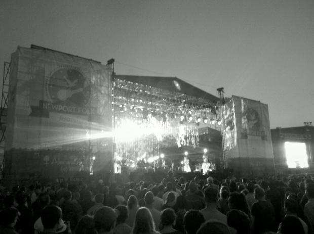 Wilco at the Newport Folk Festival, July 2012