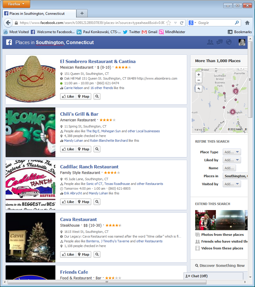 Facebook Graph Search SEO