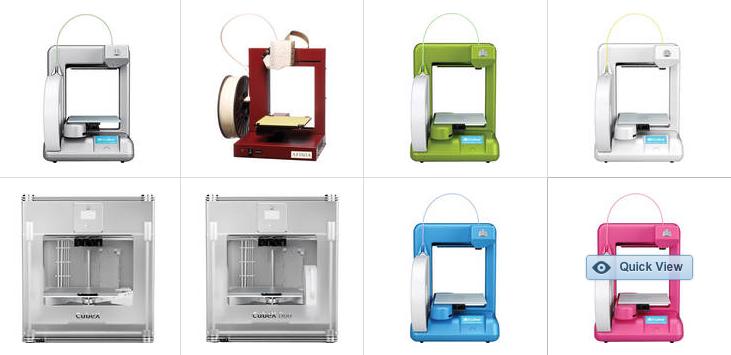 B&H Photo 3D printers
