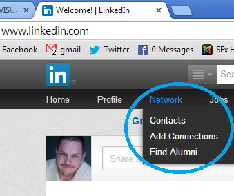 Adding Contacts On LinkedIn