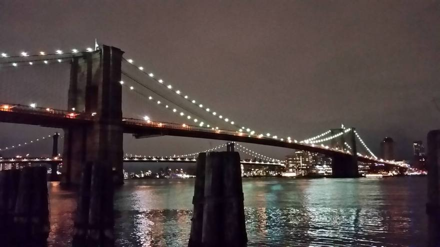 Photo of the Brooklyn Bridge by Paul Konikowski